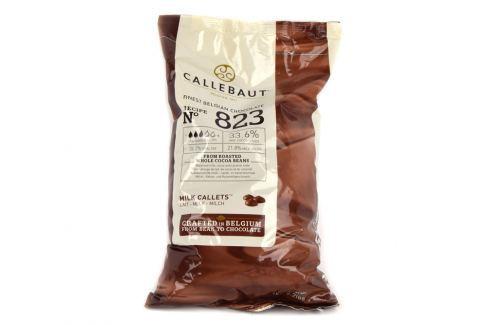 Callebaut Mléčná čokoláda, 1 Kg, No 823, 33,6 % Čokoláda na vaření