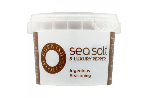 Mořská sůl pepřová Cornish Sea Salt 60 g Sůl