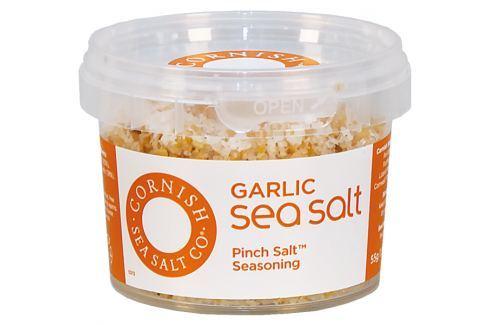 Mořská sůl s česnekem Cornish Sea Salt 55 g Sůl