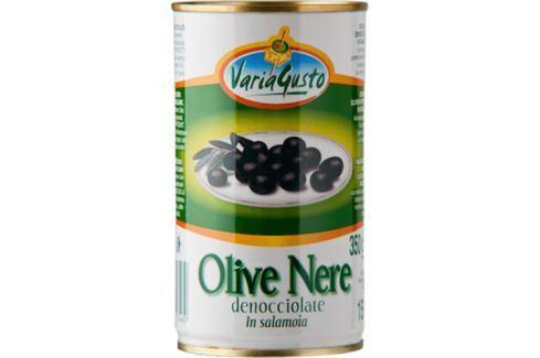 Černé olivy Varia Gusto 350 g Olivy