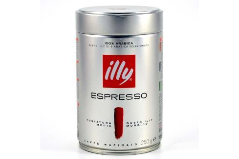 Illy Espresso mletá káva 250 g Mletá káva