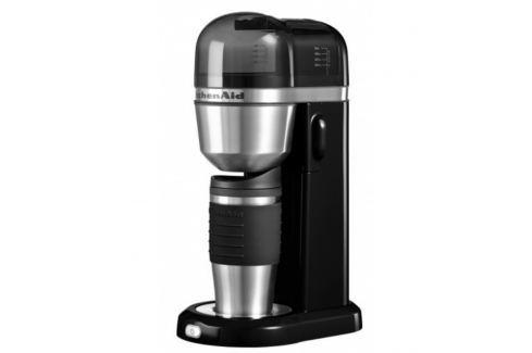 Osobní kávovar KitchenAid P2 5KCM0402 černá Automatické kávovary