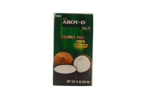 Aroy-D Kokosové mléko 500 ml Thajská kuchyně