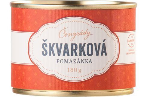 Škvarková pomazánka Čongrády 180 g Delikatesy