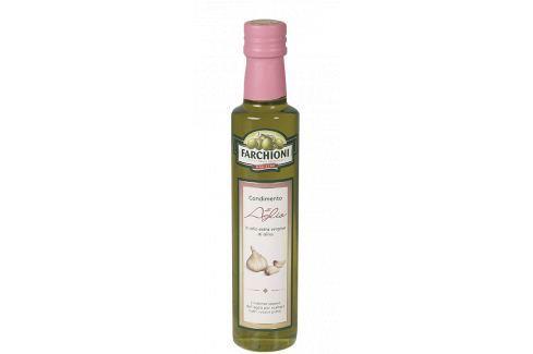 Extra panenský olivový olej s česnekem Farchioni 250 ml Olivové oleje