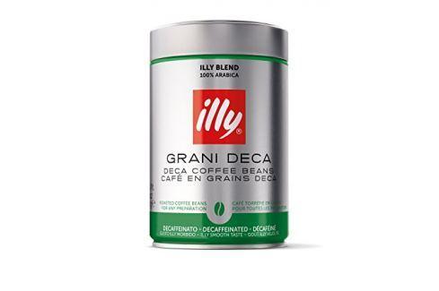 Zrnková káva bez kofeinu Illy 250 g Zrnková káva
