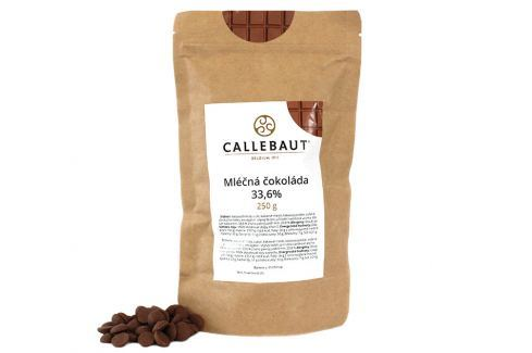 Callebaut Mléčná čokoláda 33,6 % 250 g Čokoláda na vaření