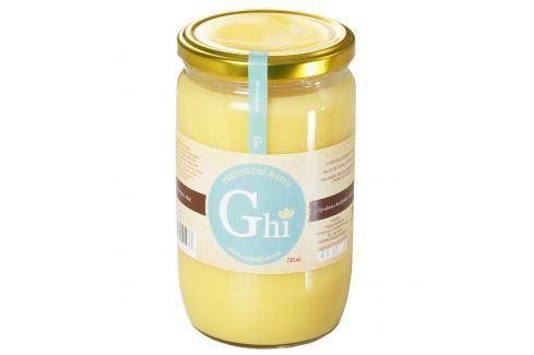 Přepuštěné máslo Ghí 720 ml Ghí máslo