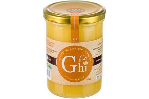 BIO přepuštěné máslo Ghí 450 ml Ghí máslo