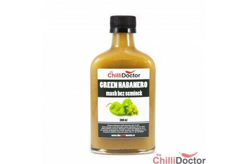 Chilli mash Green Habanero bez semínek 200 ml Chilli omáčky