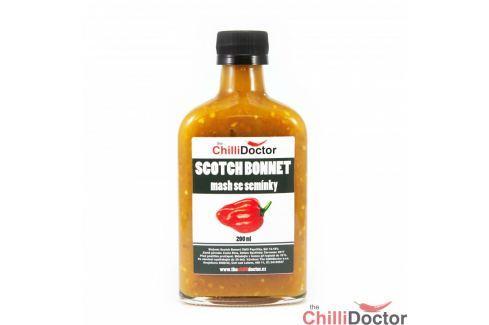 Chilli mash Scotch Bonnet se semínky 200 ml Chilli omáčky