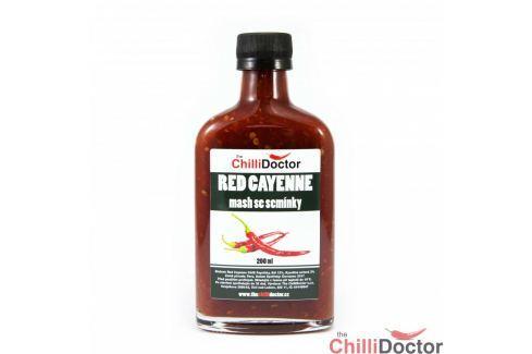 Chilli mash Red Cayenne se semínky 200 ml Chilli omáčky