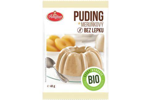 BIO puding bez lepku meruňkový Amylon 40 g BIO pudingy