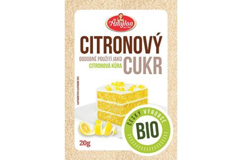 BIO citrónový cukr Amylon 20 g Potraviny
