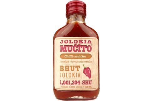 Chilli omáčka Jolokia Mučíto 100 ml Chilli omáčky