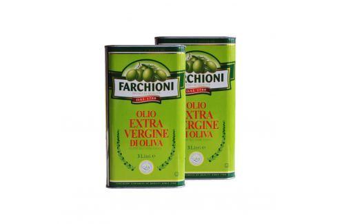 Extra panenský olivový olej Farchioni 2x3 l Olivové oleje