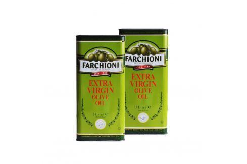 Extra panenský olivový olej Farchioni 2x5 l Olivové oleje