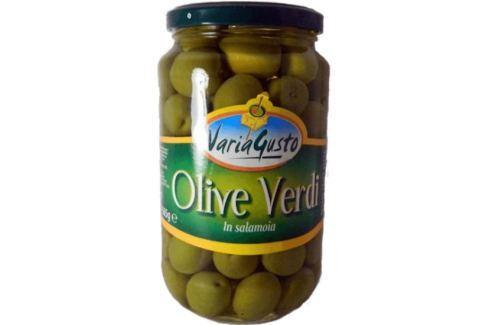 Zelené olivy Varia Gusto 545 g Nakládané speciality