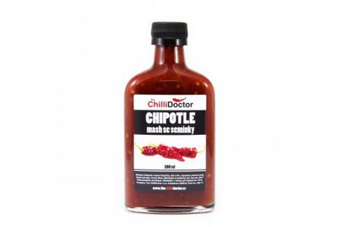 Chilli mash Chipotle se semínky 200 ml Chilli omáčky