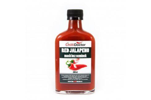 Chilli mash Red Jalapeno bez semínek 200 ml Chilli omáčky