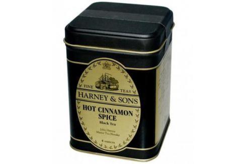 Harney & Sons Hot Cinnamon Spice Sypaný černý skořicový čaj v plechové krabičce 113 g Černé čaje
