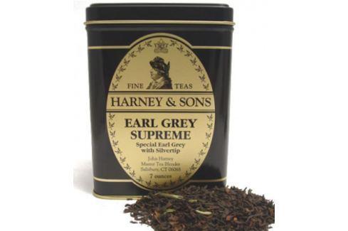 Harney & Sons Earl Grey Supreme Sypaný černý čaj v plechové krabičce 227 g Černé čaje