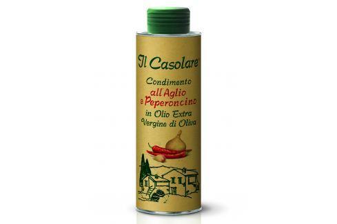 Farchioni IL Casolare Extra panenský olivový olej s česnekem a chilli 250 ml Ochucené olivové oleje