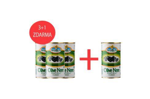 Černé olivy Varia Gusto 350 g 3+1 Olivy