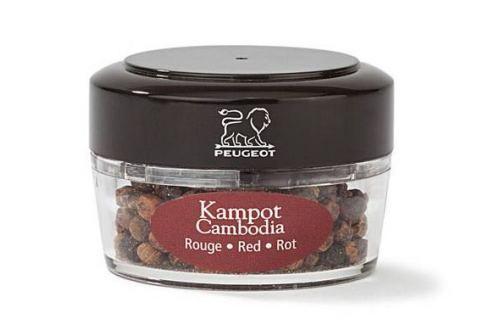 Peugeot Zanzibar Kampot červený pepř z Kambodže 18g Náhradní zásobníky k mlýnkům