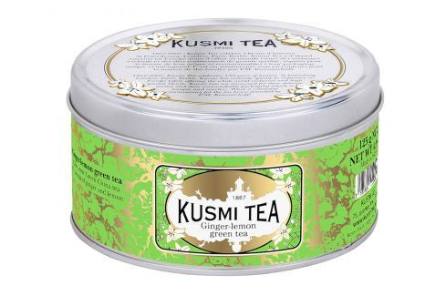 Kusmi Tea Green Ginger Lemon, 125 g Zelené čaje