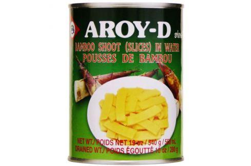 Nakládané bambusové plátky Aroy-D 540 g Asijské potraviny