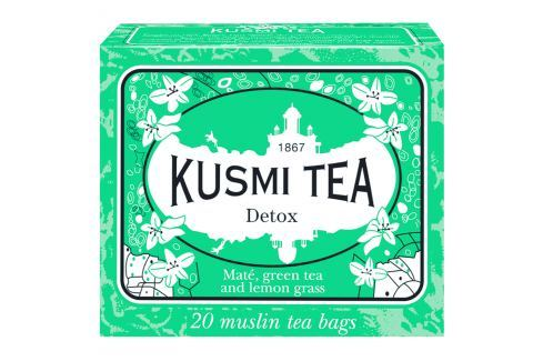 Kusmi Tea Detox, 20 sáčků Čaje
