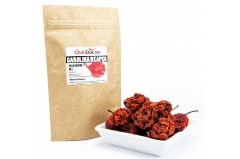 The chilli Doctor Carolina Reaper celé sušené 10g Chilli koření