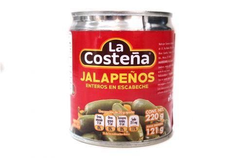 Celé Jalapeno 220g Nakládané speciality