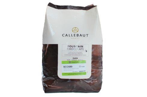 Callebaut čokoláda do fontán Horká 2,5 kg Čokoláda do fontány