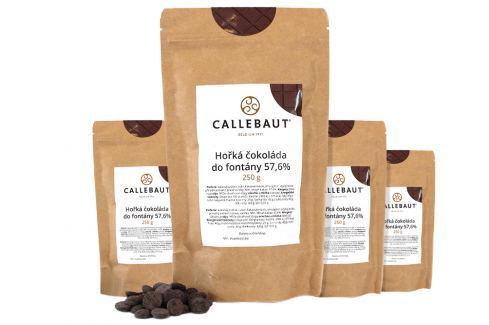 Hořká čokoláda do fontány Callebaut 57,6% 1 kg (4 x 250 g) Čokoláda do fontány