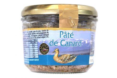 Kachní terina s Armagnacem Le goût du terroir 180 g Potraviny