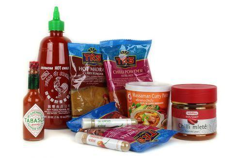 Chilli balíček Starter pack 9 ks Chilli omáčky a koření