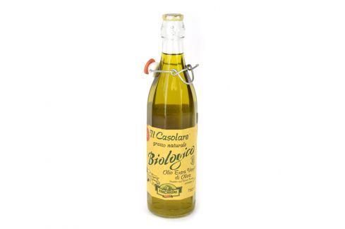 BIO nefiltrovaný extra panenský olivový olej Il Casolare 0,75 l Extra panenské olivové oleje