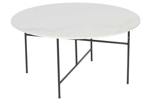Hoorns Bílý konferenční stolek Tatum 80 cm Skladovky