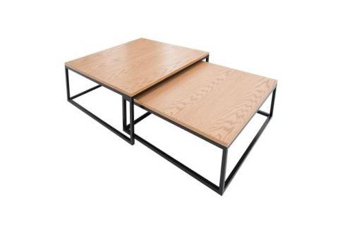 Moebel Living Set konferenčních stolků Colvi 75/65 cm Skladovky