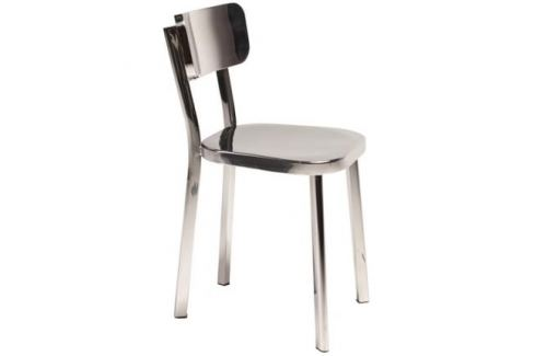 DAN-FORM Židle DanForm Carisma s podnoží z leštěné oceli Skladovky