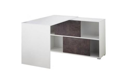 Kancelářský stůl s regálem Germania GW-Altino Skladovky