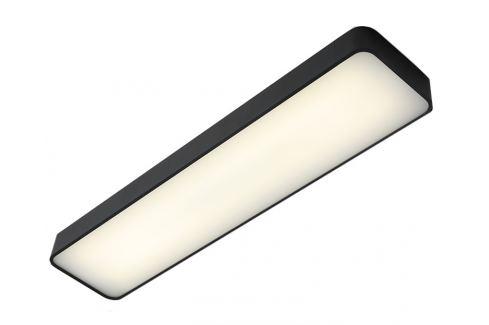 Nordic Design Grafitově černé kovové nástěnné světlo Paxon 90x20 cm Osvětlení