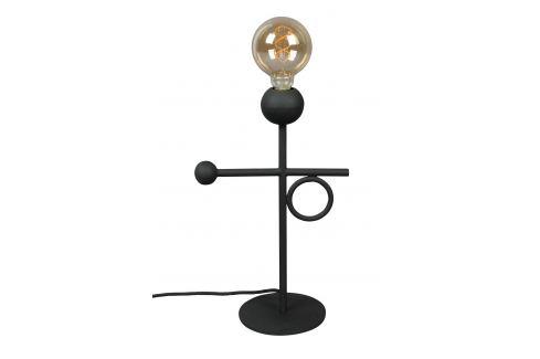 Černá kovová stolní lampa DUTCHBONE Loyd Osvětlení
