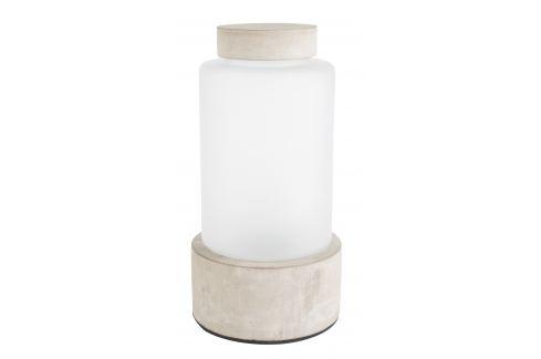 Béžová betonová váza ZUIVER REINA M Osvětlení