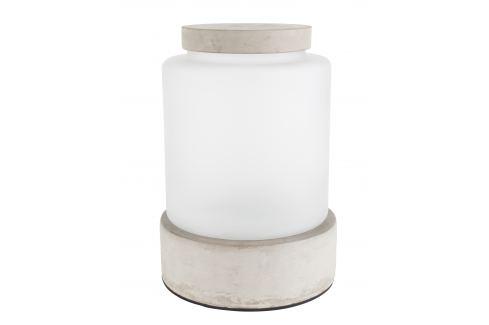 Béžová betonová váza ZUIVER REINA L Osvětlení