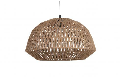 Hoorns Přírodní jutové závěsné světlo Katie 45 cm Osvětlení
