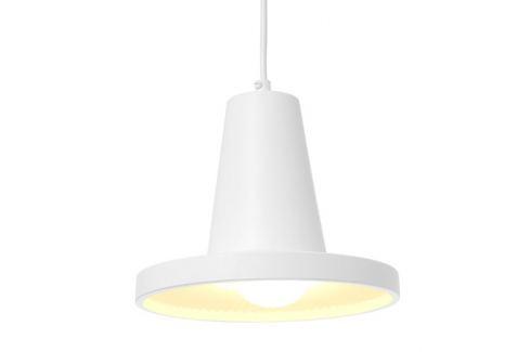 Time for home Bílé kovové závěsné světlo Rubby Osvětlení