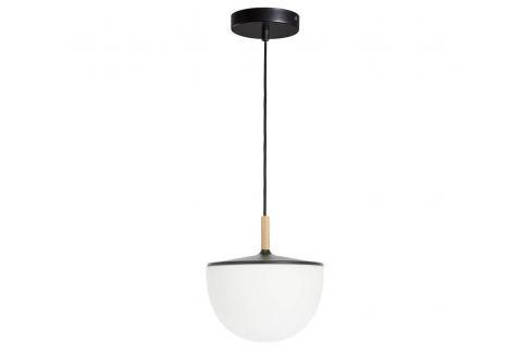 Černé kovové závěsné světlo LaForma Neda 25 cm Závěsná svítidla